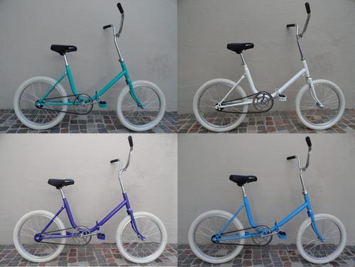 bici aurorita plegable rodado 20 nueva 11kg retro olivos zwt