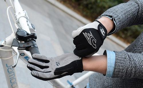 bici ciclismo guantes