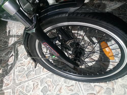 bici eltomacorriente plegable aluminio