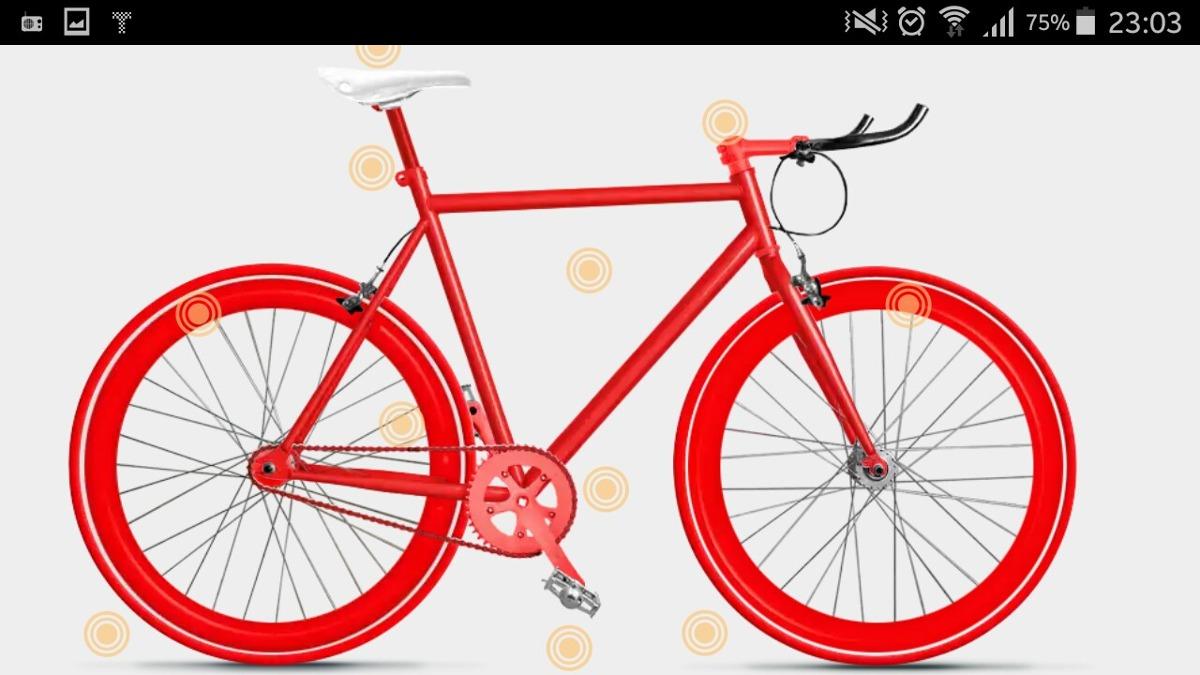 Bici Fixie Personalizada - $ 490.000 en Mercado Libre