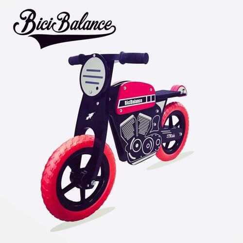 bici moto bicicleta cafe racer balance madera camicleta