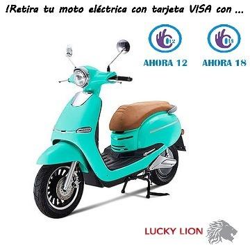 bici-moto electrica- scooter lucky lion a bateria  60v cute2