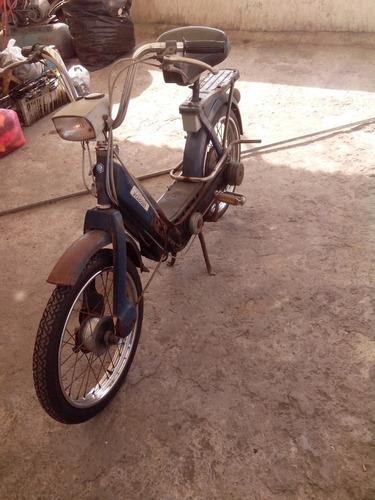bici moto italiana vespa piaggio 1968,