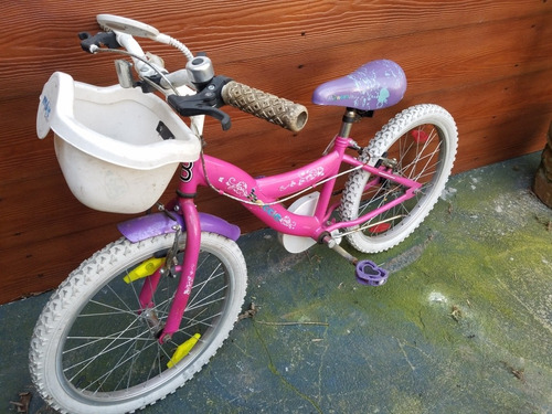 bici niña rodado 20