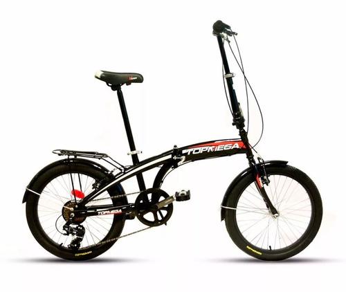 bici plegable shimano 6 cuotas s/interes r20 7 vel nueva