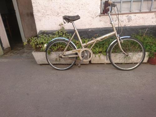 bici raleigh r20 plegable!