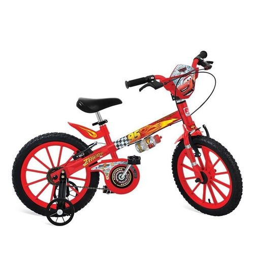 bicicleta 16 cars disney