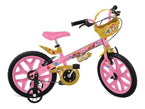 bicicleta 16  princesas disney bandeirante
