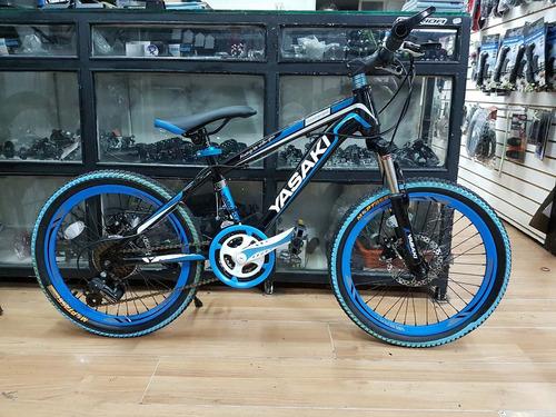 bicicleta 20 frenos de disco 18 velocidades doble suspencion