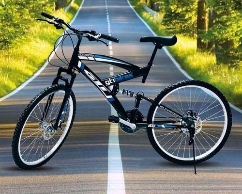 bicicleta 26 aros de aluminio 21 vel frenos de disco 2019