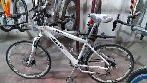 bicicleta #26 toda de aluminio y repuestos chimano