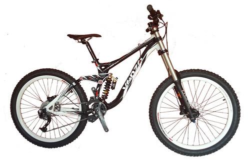bicicleta 26 venzo exceed downhill doble susp. alivio 3.0