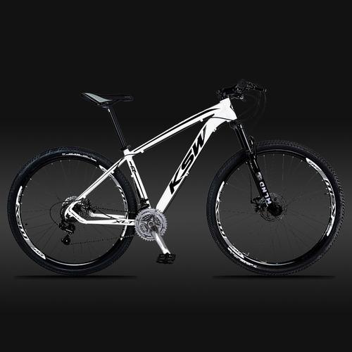 bicicleta 29 ksw câmbio shimano 21v disc c/pedivela alumínio