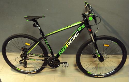 bicicleta 29 nordic x5 alum bloqueo shimano 21v 12 s/interes