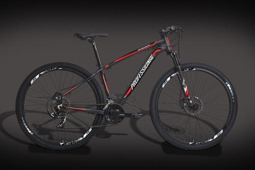 bicicleta 29 professional shimano 24v freio hidráulico gts