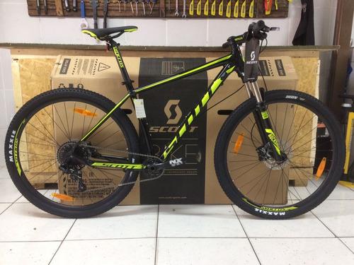 bicicleta 29 scott 2018 scale 980 grupo sram nx 11v m l nova