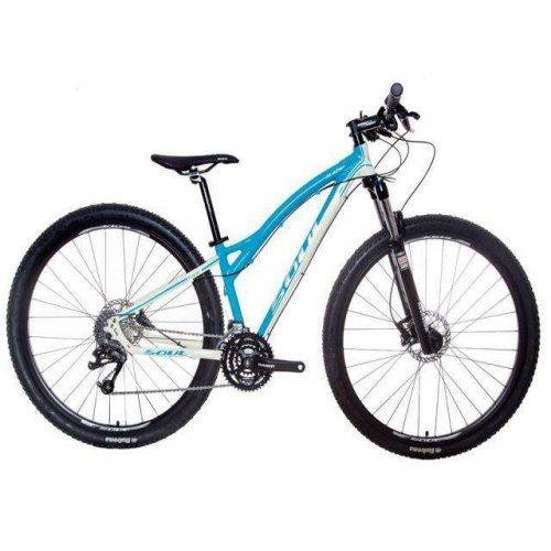 bicicleta 29 soul sl429f 27v azul/branco (quadro 14)