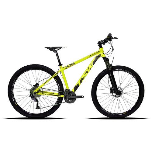bicicleta  29 tsw 27v cambio acera suspensão c/ trava  2018