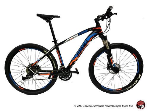bicicleta 29 y 27.5 shimano 27v frenos hidraulicos maxxis