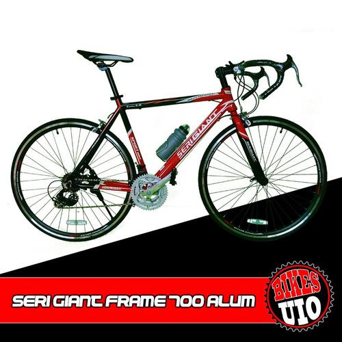 bicicleta 700 carreras ruta aluminio componentes shimano 21v