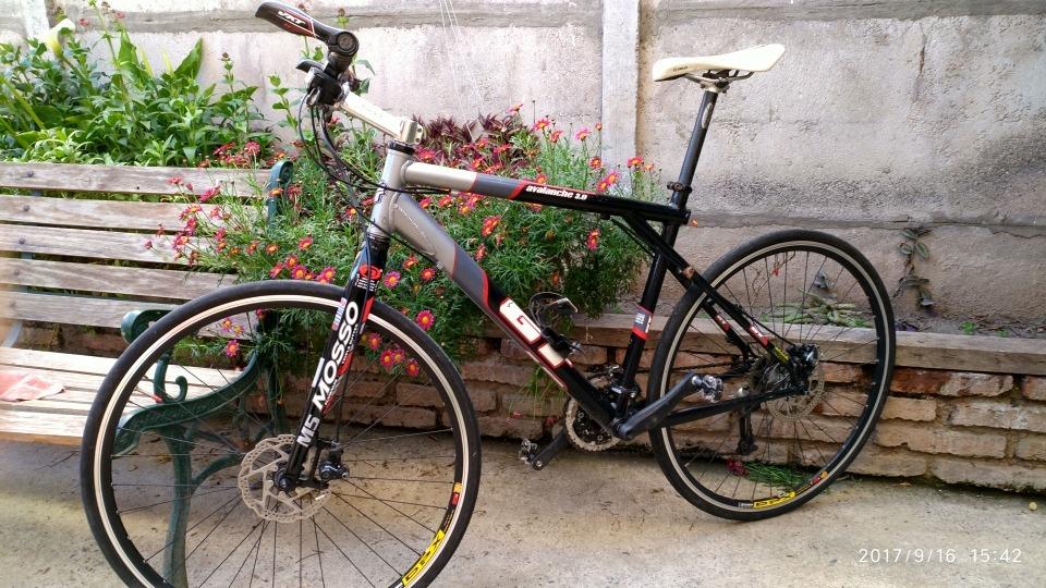 Bicicleta 700 X 32c Híbrida, Horquilla Mosso M5 Cuadro Gt Al ...