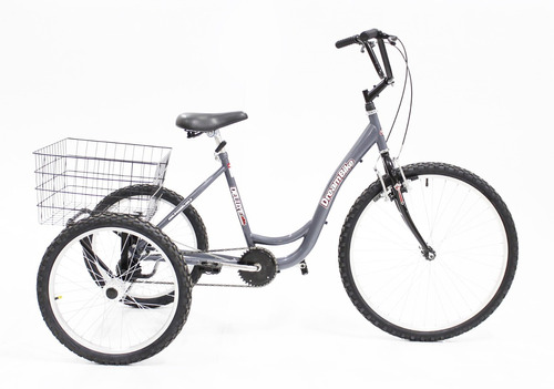 bicicleta triciclo rebaixado adulto de luxo aro 26