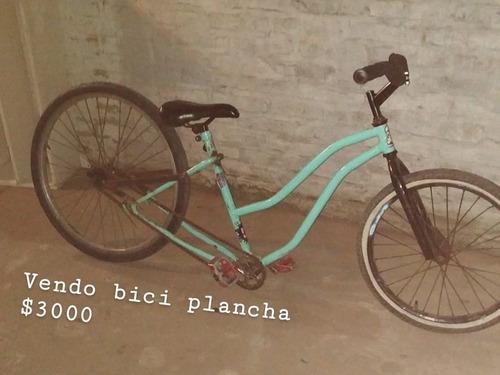 bicicleta al piso