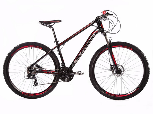 bicicleta alfameq bull aro 29 freio a disco hidráulico 24v