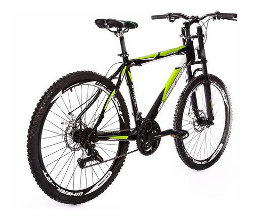 bicicleta alfameq f. à disco, garfo downhill - frete grátis!