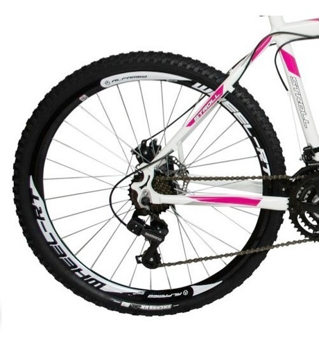 bicicleta alfameq feminina aro 29 f disco 27v kit shimano