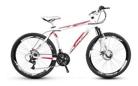 bicicleta alfameq stroll aro 29 freio a disco e kit shimano
