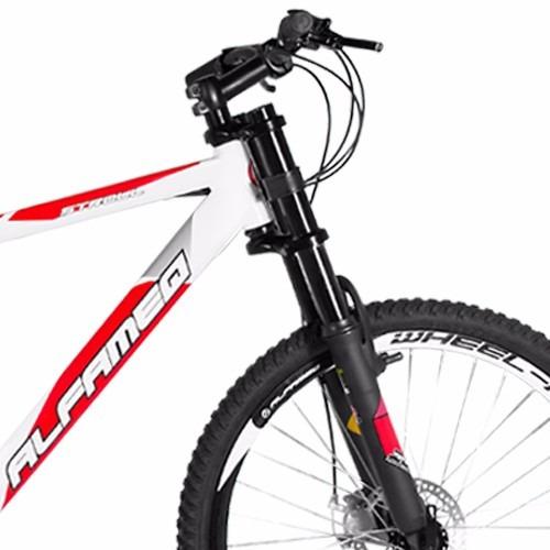 bicicleta alfameq stroll downhill freio disco frete grátis