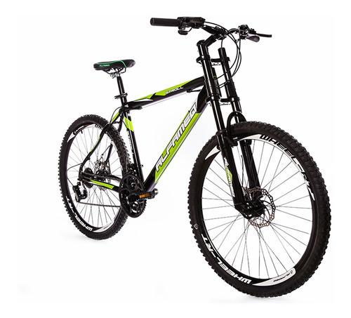 bicicleta alfameq stroll freio a disco e suspensao downhill