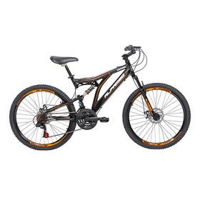 Bicicleta Alfameq Xrs Full Suspension Aro 26 Freio Disco 21v