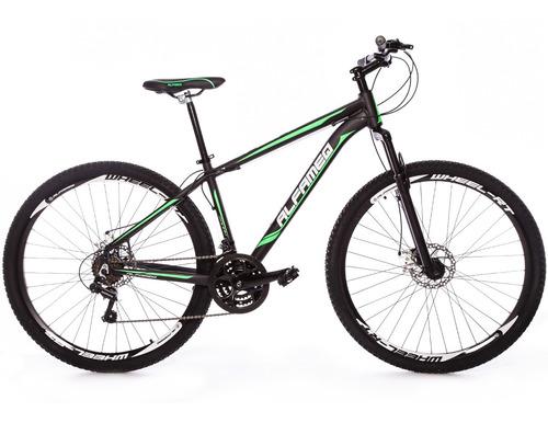 bicicleta alfameq zahav 29 freio disco 21 velocidades