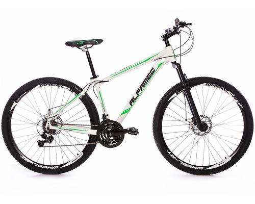 bicicleta alfameq zahav 29 quadro 19 disco 24v frete gratis