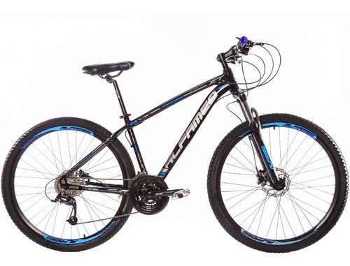 bicicleta alfameq zt aro 29 fd hidráulico susp c trava 24v