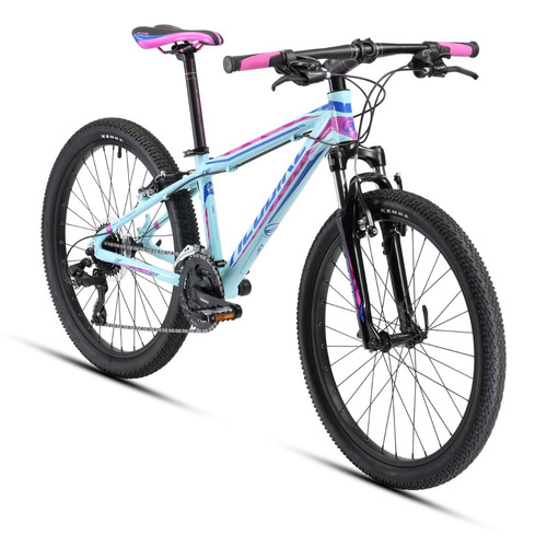 bicicleta alubike dfw dim rodada 24 y 24 velocidades 2018