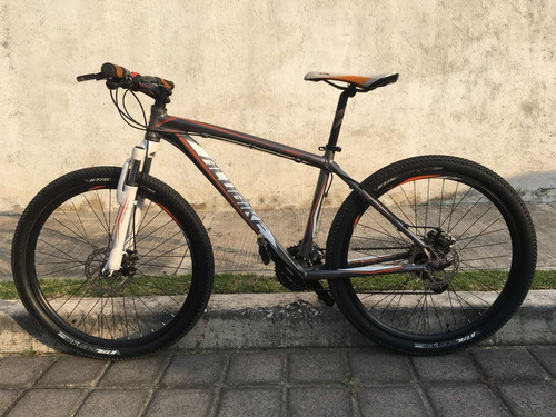 bicicleta alubike mtb, 24 velocidades, rodada 26
