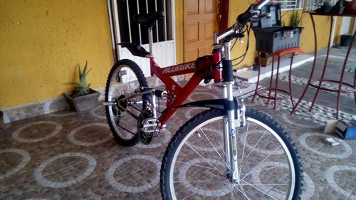 bicicleta alubike rodada26