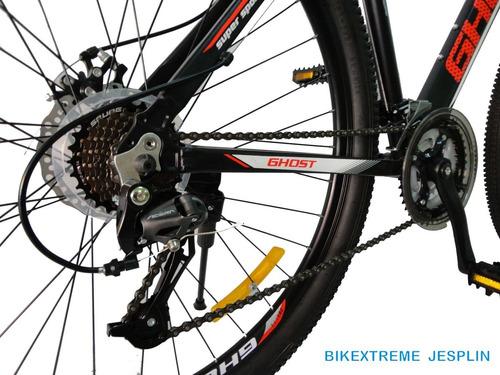 bicicleta aluminio ghost aro 29 tallas m y l de 24v ¡nuevas!