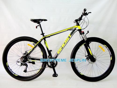 bicicleta aluminio ghost aro 29 tallas m y l ¡nuevas!