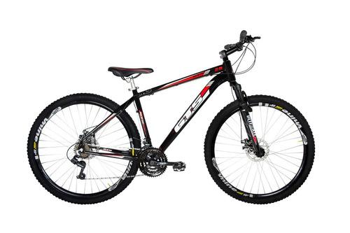 bicicleta alumínio gts m5 aro 29  24v disco câmbio shimano