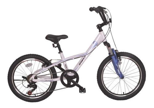 bicicleta aluminio niño dtfly mba305r blanca-violeta