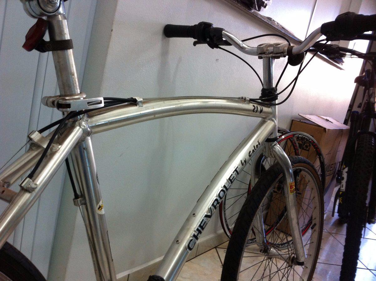 Bicicleta Antiga Caloi Chevrolet Raridade Aluminio Shimano