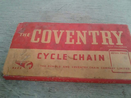 bicicleta antigua cadena inglesa n.o.s