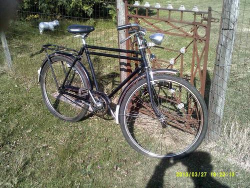 bicicleta antigua caloi en inpecable estado