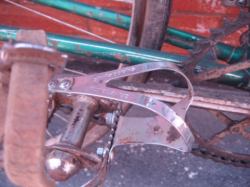 bicicleta antigua de carrera italiana 1940