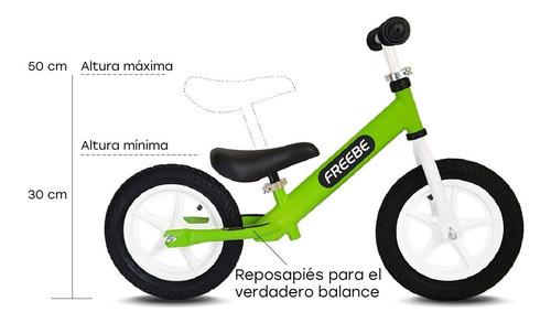 bicicleta aprendizaje balance niños sin pedal - roja rosada