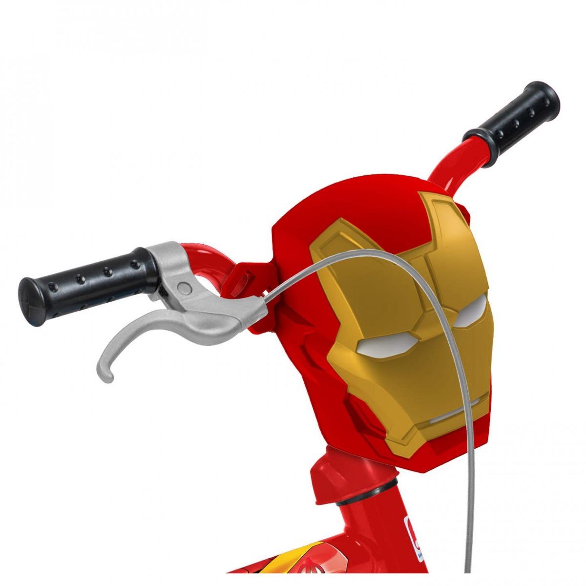52a9826c0 bicicleta aro 12 homem de ferro brinquedos bandeirante fwt. Carregando zoom.